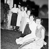 Pierce Jr. College queen candidates for home coming week, 1951