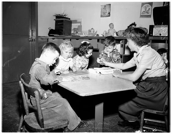 Exceptional children home, 1951