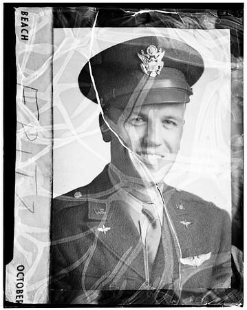 Victim of jet bomber, 1951