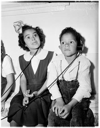 Hearing tests, 1951