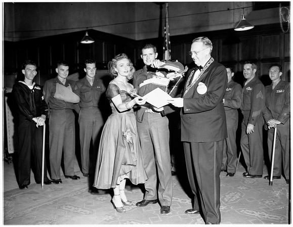 Elks heroes night, 1951