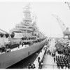 "Arrival of USS ""Missouri"" -- Long Beach Harbor, 1951"