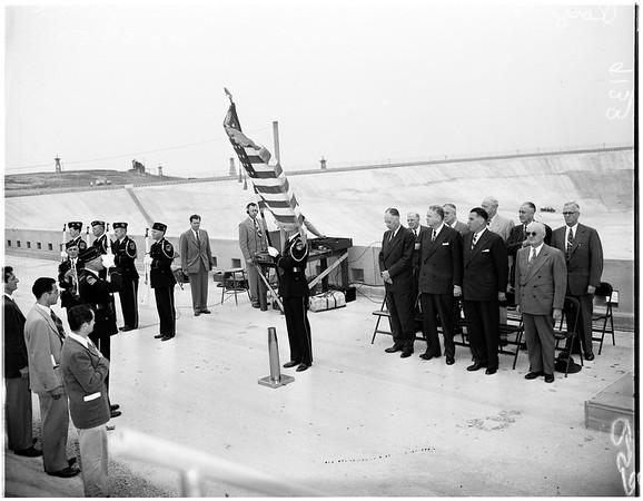Reservoir (Baldwin Hills celebration) American Legion, 1951