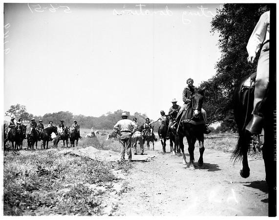 Horseback service (Griffith Park), 1951