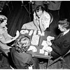 Bridge tourney opend at Elks temple, 1951