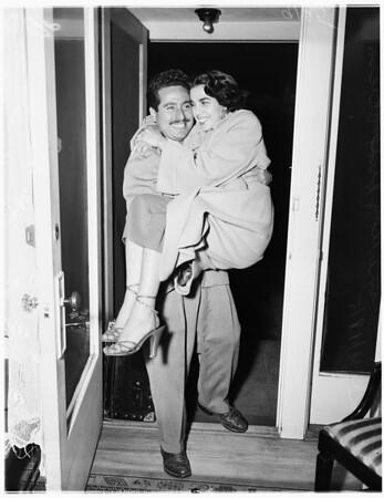 Proxy wedding, 1951