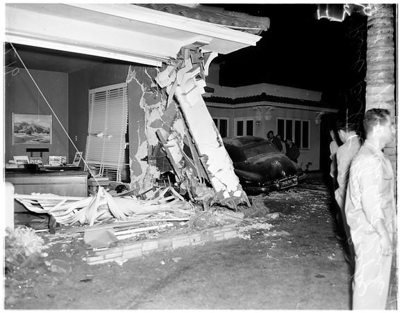 Traffic accident, 1951