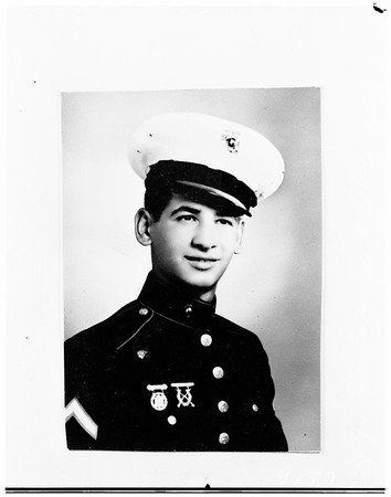 Dead Korean war hero, 1951