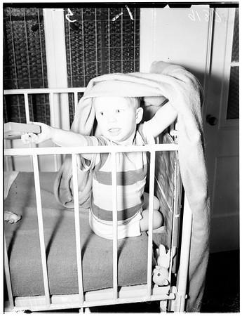 Ruth Home polio therapy (El Monte), 1951