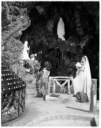 Lourdes pilgrimage, Altadena, 1951