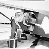 Non stop flight (light plane) Los Angeles to New York, 1951