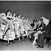 Merry Widow rehearsal, 1951