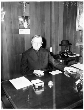 Visiting priest, 1951