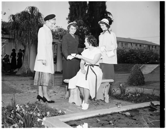 girls week project, 1951