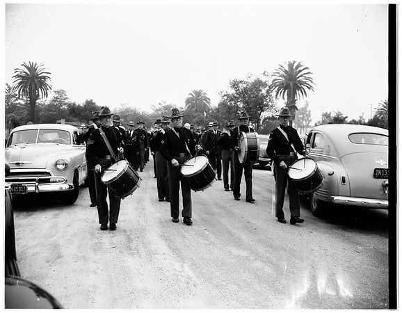 Memorial Day services, Rosedale Cemetary, 1951