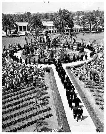 Pepperdine commencement, 1951
