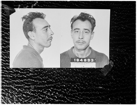 Escaped sex maniac, 1952