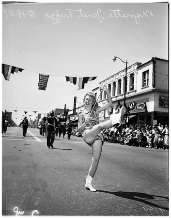 Burbank parade, 1951