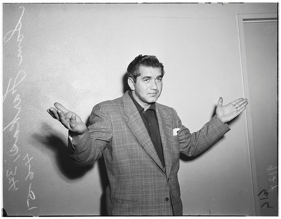 Raid suspects (prostitutes), 1951
