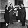 Party at home of Italian Consul, 1958