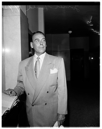 Celluloid kid trial, 1951