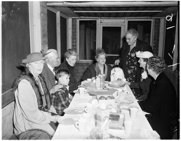 Pioneer families... Puente, 1951.