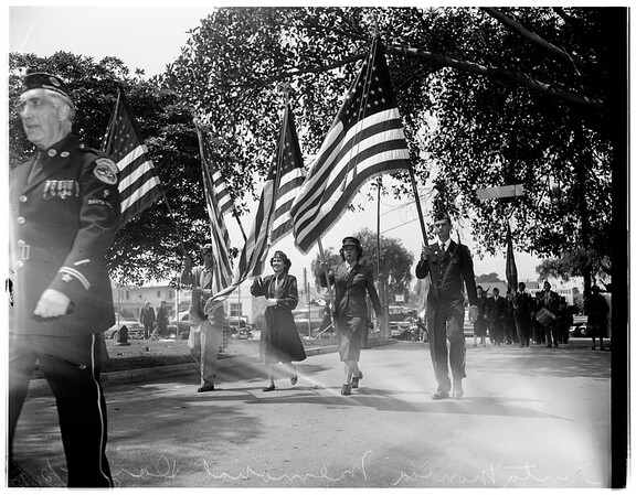 Memorial Day, Santa Monica, 1951