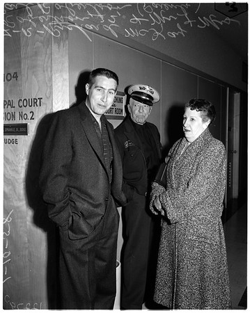 Police chief slugger (Police Chief Clifton J. Brown, victim), 1958