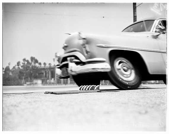 Firestone's new tire, 1951
