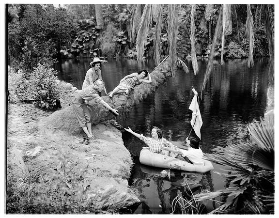 Pasadena Philharmonic shipwreck party, 1951