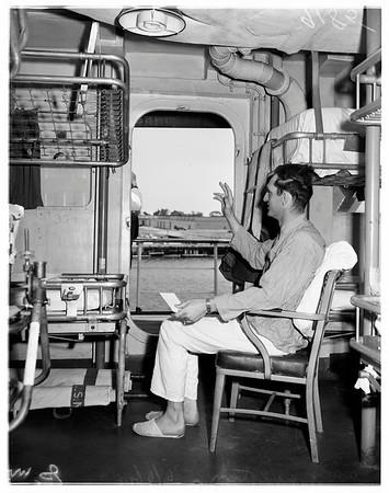 U.S.S. Consolation at San Diego, 1951