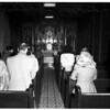 Catholic Youth Organization vigil at Old Mission Plaza Church, 1951