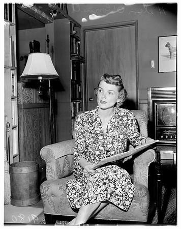 Child support case, 1951