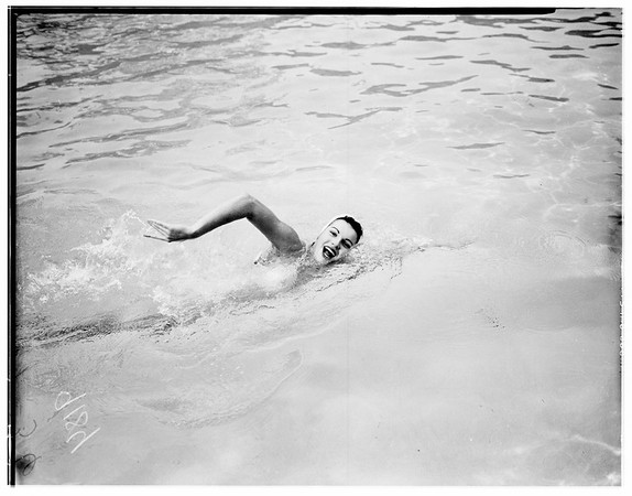 Swim feature, 1951