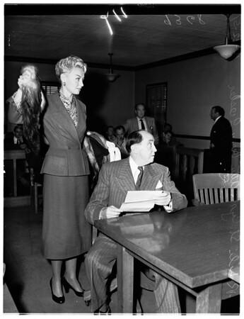 Lili St. Cyr, 1951
