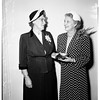 Legion Auxiliary honors Mrs. Olive Casey, 1951