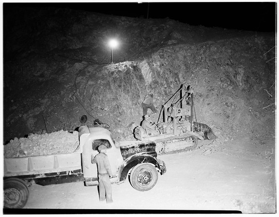 Tungston Mine Feature (Barstow), 1951