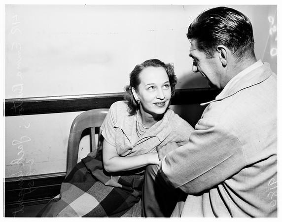 Homicide suspect, 1951