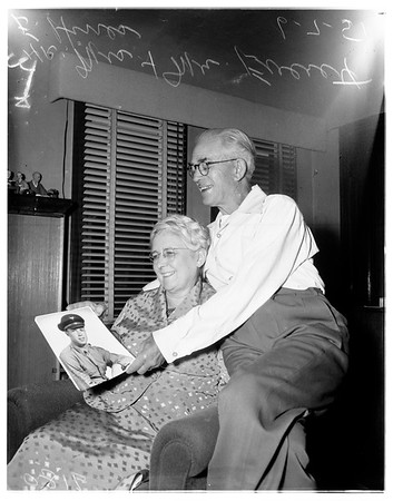 Mr. and Mrs. Everett E. Hines, 1951