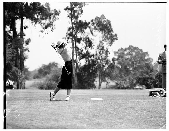 Women's golf Tourney, 1951