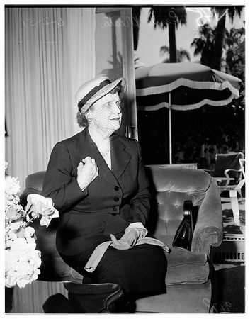 Press conference (Beverly Hills Hotel), 1951