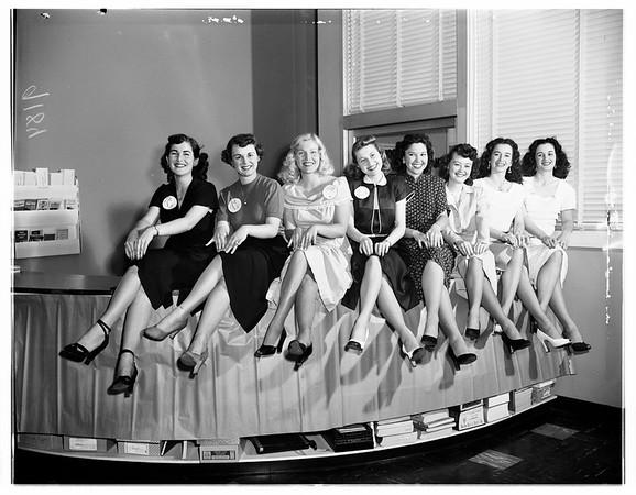 Goose girls, 1951