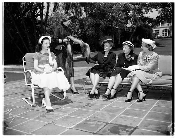 Kate Crutcher workers, 1951
