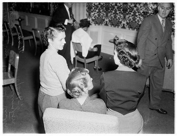Coiffure Guild Convention ...Ambassador Hotel, 1951
