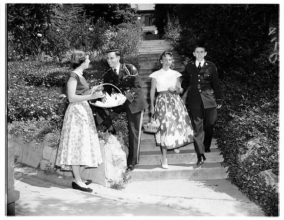 Harvard school festival, 1951