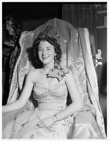 Santa Monica Community Fair Queen, 1951