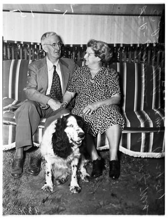 Golden wedding -- El Monte, 1951