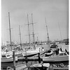 "Turning over yacht ""Colleen"" to Adventist Church, 1951"