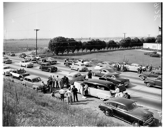 Traffic (Lincoln Boulevard between Sepulveda and Manchester), 1951