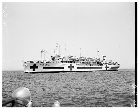 U.S.S. Consolation at San Diego, 1951
